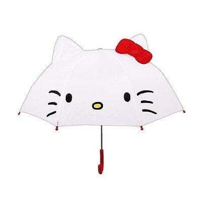 Sanrio Hello Kitty Umbrella with 3D Ears for Kids