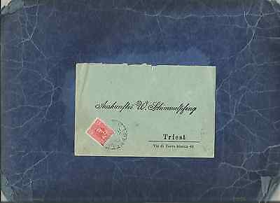 Montenegro,fine&scarce 1907 Commercial Cover To Triest,italy.arrival