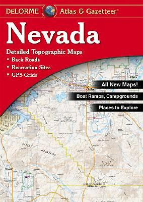 Delorme Nevada Atlas and Gazetteer, 7th edition