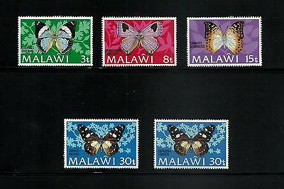 Malawi 1973 Butterflies Complete Sets Fresh MNH Unmounted Mint