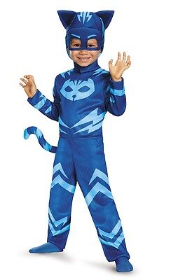 PJ Masks Classic Catboy Toddler Costume, Blue, Disguise, 17145