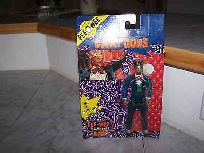 1988 PEE WEE Matchbox Poseable KING OF CARTOONS  (NEW) $9.05 each