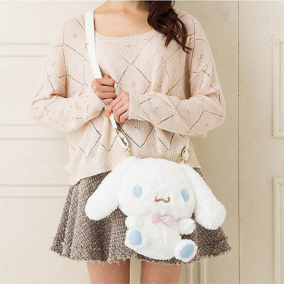 New! Cinnamoroll Sanrio Plush Doll Shoulder Bag Stuffed Japan F/S