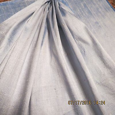 Vintage Fine Duponi  Silk   Light Blue   Antique  French Doll   Fashion    Sa1