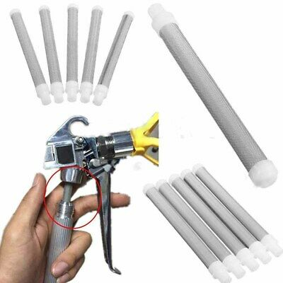 5Pcs Set Airless Spray 60 Mesh Paint Gun Filter Elements Accesories For Wagner