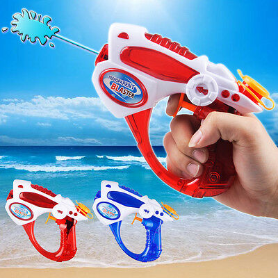 Child Water Gun Kids Super Soaker Play Pistol Blaster Plastic Squirt Outdoor Toy