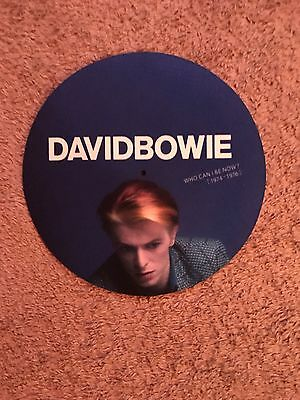 David Bowie Who Can I Be Now Promotional Slipmat Rare For Turntable&Mouse Pad