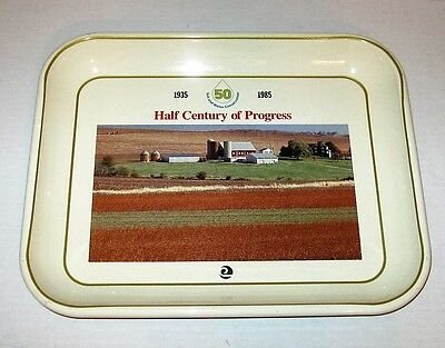 50-Year Soil & Water Conservation Vintage Metal Serving Tray
