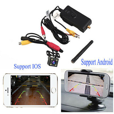Waterproof Car Park P2P 30fps realtime video WIFI transmitter for IPhone Andriod