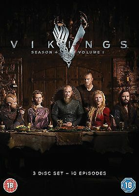 VIKINGS season 4 part 1 volume 1 region 2 DVDs new Fast Dispatch