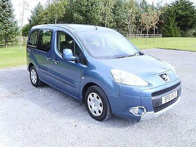 2011/61 Peugeot Partner Tepee 1.6 HDI Automatic Wheelchair Access Vehicle 5Seats