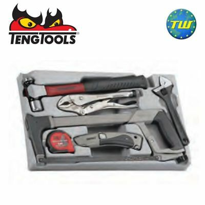 Teng SCPS01 6pc PS Service Tool Tray - Fits TC-SC Hammer Hacksaw Plier Wrench