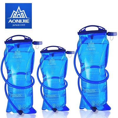 1.5L 2L 3L Water Bladder Bag Backpack Hydration System for Camping Hiking Climb