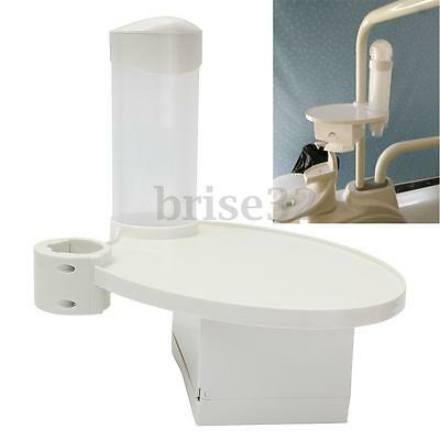 Dental Chair Accessories 1 Disposable Cup Storage Holder 1 Post Mounted Tray New