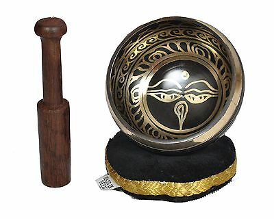 Dharma Store - Tibetan Meditation Singing Bowl Set for Relaxation and Healing