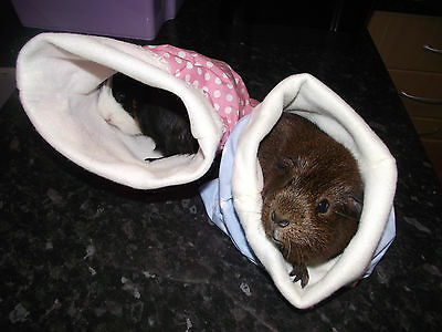 Guinea Pig Hedgehog hoglet Sleeping Bags Snuggle Pouch Cosy Winter or summer bed