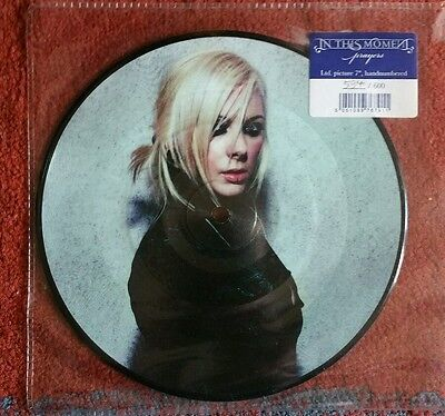 """Rare in this moment prayers Ltd picture disc 7"""" hand numbered /600 new unplayed"""