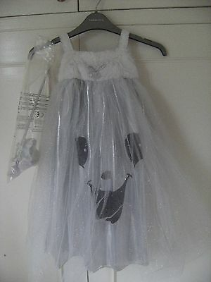 """Girls """"Spooked"""" Fancy Dress outfit BNWT Age 2-3 with wand and headband"""