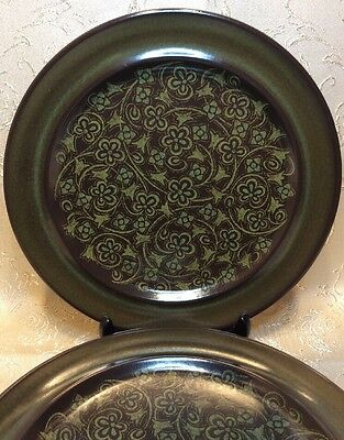 """3 Franciscan Madeira Dinner Plates - EXCELLENT Condition 10-1/2"""" - Earthenware"""