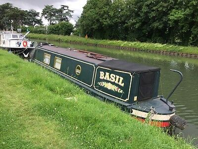 Narrowboat 2004 38.5 Foot Semi Trad Exceptional Standard & Condition £32,500