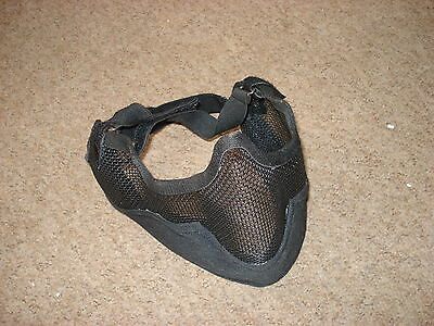 Airsoft Paintballing Tactical Hunting Strike Mesh Wire Face Mask Protection