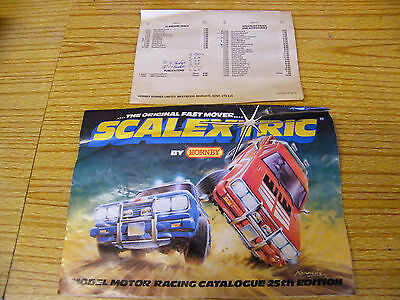 scalextric brochures