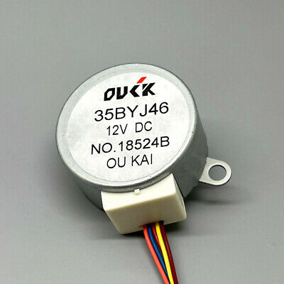 24BYJ48 DC 5V 4-Phase 5-Wire Gear Stepper Motor Reduction Micro Stepping Motor