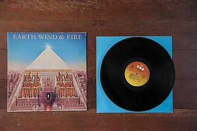 Earth Wind & Fire ‎– All N All  vinyl vinilo LP Spanish edition 1977