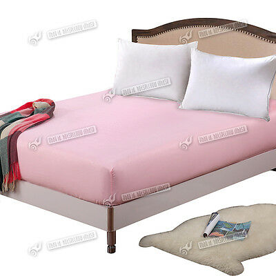 New Polyester Fiber Fitted Sheet Bed Pink King Size Fitted Sheet Printed Design