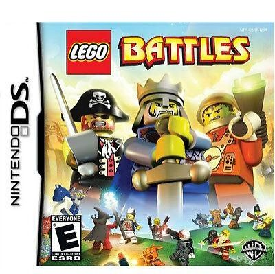 LEGO Battles (Nintendo DS) - BRAND NEW GAME AND SEALED OFFICIAL UK PAL