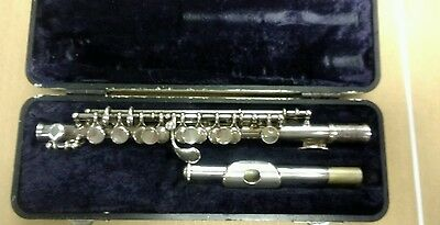 Selmer PC310 Piccolo Silver Plated With Hard Case. Very Nice and Free Shipping!