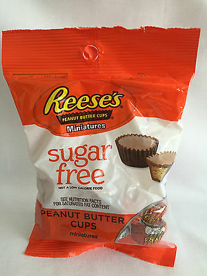 Reeses Sugar Free Peanut Butter cups miniatures
