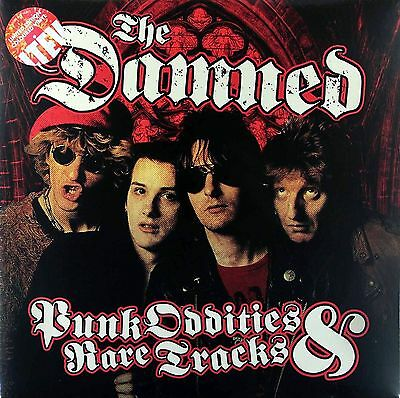 THE DAMNED Punk Oddities And Rare Tracks LIMITED EDITION COLOURED VINYL 2LP