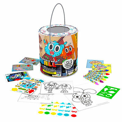 Official The Amazing World Of Gumball Activities Can Arts and Craft Set