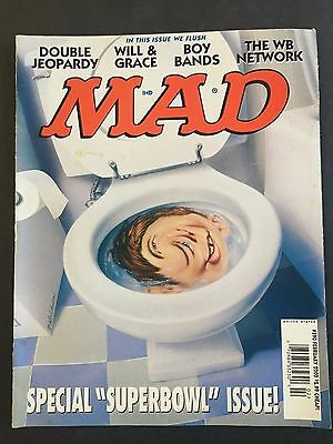 Mad Magazine February 2000 No 390   Special Superbowl Issue