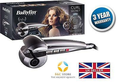 !NEW Babyliss CURL SECRET C1200E Ionic HAIR STYLER CURLER AUTO special gift must