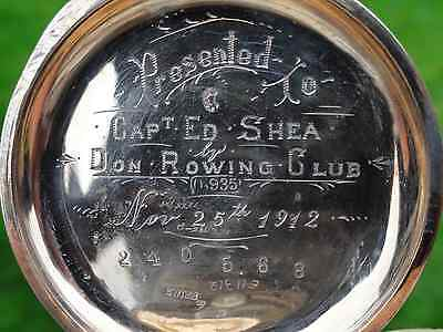1912 Marlboro Stopwatch marked: Don Rowing Club  0,935