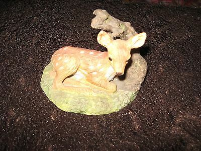 Wedgwood Porcelain Deer Ornament In Excellent Condition