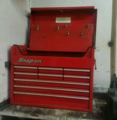 Vintage Snap on Mechanics Tool Top box Chest