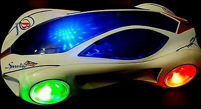 Children Musical Racing Car  Toy  3D Special Lights  Boys Birthday Xmas Gift