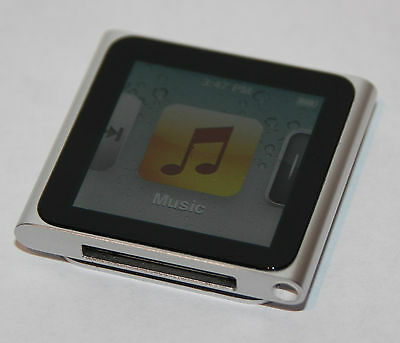 Apple iPod nano 6th Generation Silver (8GB) - Fully Working