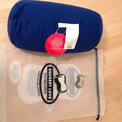 Squeezy Love Therapy Pillow Royal Blue BNWT
