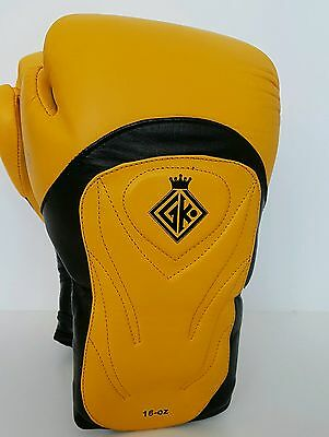 GK Special Boxing Gloves Twins cowhide  Leather  MMA UFC K1 14oz Sandee Rdx Thai