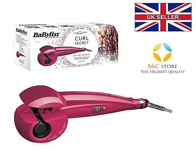 # NEW Babyliss CURL SECRET C901PE CERAMIC HAIR CURLER AUTO pink fashion LIMITED
