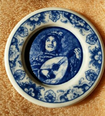 Delft Patterned Miniature Plate