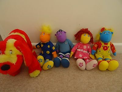 tweenies soft toy x 4 and large doodles the dog
