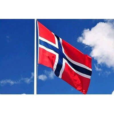 Large 3x5ft Norway  Flag Polyester  Banner Outdoor US Seller