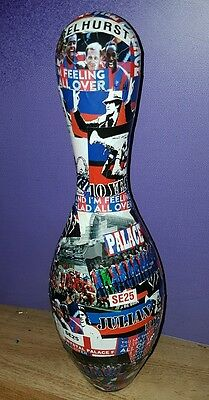 Crystal Palace FC Bowling Pin - Unique CPFC Item - Ideal Gift - Unusual Quirky