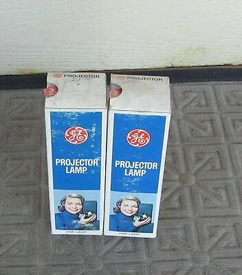 2 - DFK 115-120V 1000W GE  Projector Lamp Projection Bulbs NOS