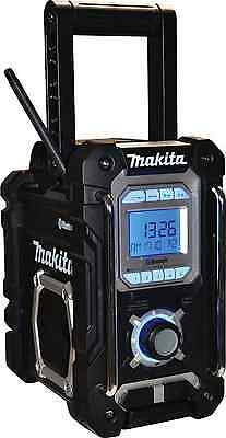 Makita DMR106B Jobsite Radio with Bluetooth and USB Charger - Black